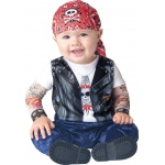 Born to be Wild Infant/Toddler Costume: Medium, Everyday, Male