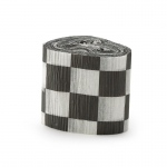 Black and White Checkered Crepe Paper: Black/White, Birthday