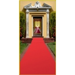 Beistle Company Red Carpet Runner Red