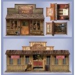 Beistle Company 5' Wild West Town Props Wall Add-Ons