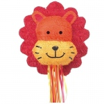 Lion Pull-String Pinata: Birthday