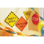 "7"" Traffic Signs: Birthday"
