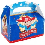 Birthday Express Cowboy Empty Favor Boxes