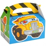 Birthday Express Construction Pals Empty Favor Boxes