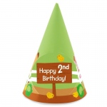 BuySeasons Barnyard 2nd Birthday Cone Hats