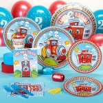 Two Two Train Standard Party Pack for16: Birthday