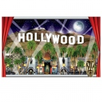 Beistle Company 5' Hollywood Insta-View Scene Window Prop