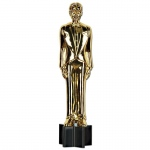 5' Awards Night Male Statue Cutout: Birthday