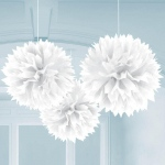 Fluffy Decorations - Multi-colored