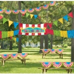 Amscan Giant Outdoor Carnival Decorating Kit