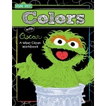 Twin Sisters Productions Sesame Street - Fun with Colors and Shapes Write On Wipe Off Book