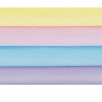 Pastel Colors Tissue Paper (20 sheets): Birthday