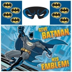 Amscan Batman Heroes and Villains Party Game Blue/Red/Yellow