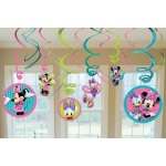 Amscan Disney Minnie Mouse Hanging Swirl Value Pack