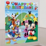 Disney Mickey Mouse Scene Setter Decoration Set: Blue/Green, Birthday
