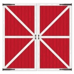 Barn Door Props Add-Ons: Red, Birthday