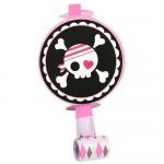 Pretty Pirates Party Blowouts (8): Black/Pink, Birthday