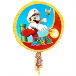 Super Mario Party Pull-String Pinata: Multi-colored, Birthday