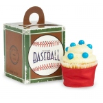 Baseball Time Cupcake Boxes (4): Multi-colored, Birthday
