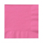 Creative Converting Candy Pink (Hot Pink) Beverage Napkins Pink