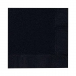 Creative Converting Black Velvet (Black) Beverage Napkins Black