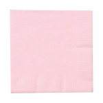 Creative Converting Classic Pink (Light Pink) Beverage Napkins Pink