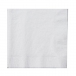 Creative Converting Bright White (White) Beverage Napkins White