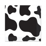Cow Beverage Napkins (16): Birthday
