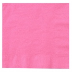 Creative Converting Candy Pink (Hot Pink) Lunch Napkins Pink