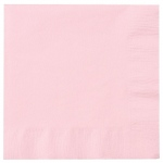 Creative Converting Classic Pink (Light Pink) Lunch Napkins Pink