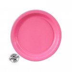 Candy Pink (Hot Pink) Dessert Plates (24): Birthday