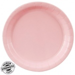 Classic Pink (Light Pink) Dinner Plates (24): Birthday