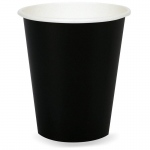 Black Velvet (Black) 9 oz. Paper Cups (24): Birthday