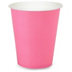 Candy Pink (Hot Pink) 9 oz. Cups (24): Birthday