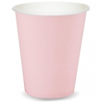 Classic Pink (Light Pink) 9 oz. Cups (24): Birthday