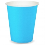 Bermuda Blue (Turquoise) 9 oz. Paper Cups (24): Birthday