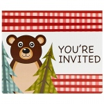 Birthday Express Let's Go Camping Invitations