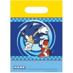 Darton Party Sonic Treat Bags Blue/Yellow