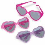Amscan Disney Minnie Mouse Glitter Heart Sunglasses Pink/Purple