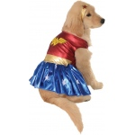 Wonder Woman Deluxe Dog Costume - Small