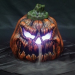 "Seasons 9.5"" Sinister Pumpkin Fogger"