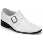 Pleaser Shoes Loafer (White) Adult Shoes M (10 - 11)