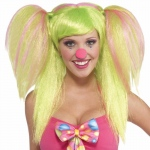 Forum Novelties Circus Sweetie Lollypop Lilly Wig One-Size