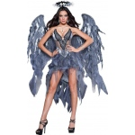 Dark Angel's Desire Adult Costume: Black, Small, Everyday, Female, Adult