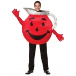Kool Aid Adult Costume: Red, One-Size, Everyday, Unisex, Adult