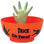 Animated Witch Hand Candy Bowl: Halloween, Unisex, Adult