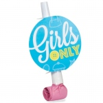 Birthday Express Girls Only Party Blowouts Blue