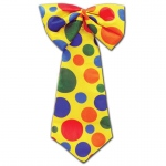 Clown Tie: Multi-colored, Birthday