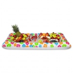 Inflatable Luau Buffet Cooler: Multi-colored, Birthday