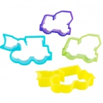 Birthday Express Construction Cookie Cutters Assorted Various - color may vary